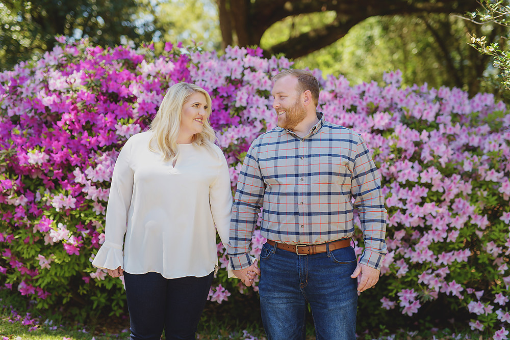 Kelly + Scott Engaged   Longue Vue House Session