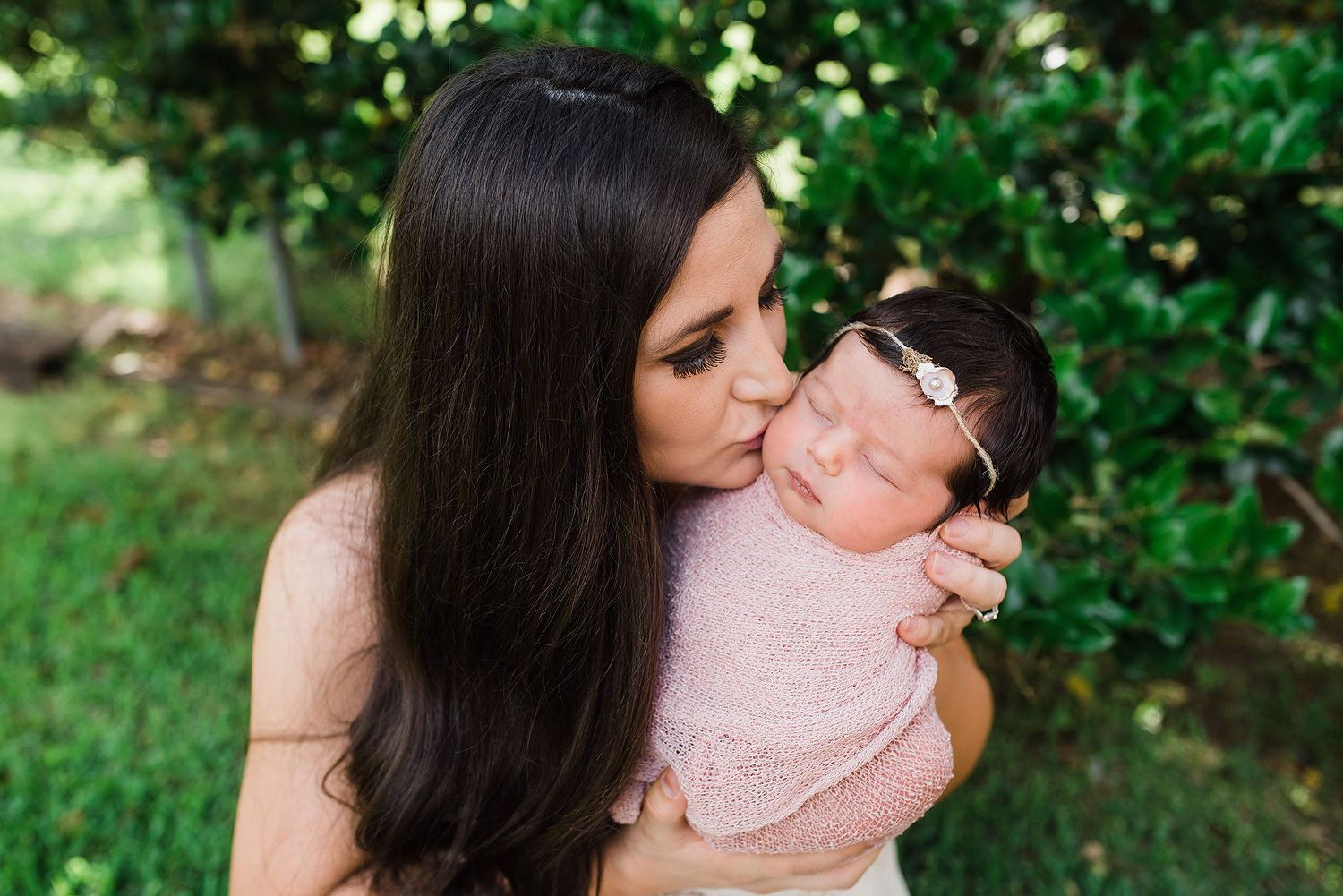 New Orleans Family Photographer   Baby Lucy