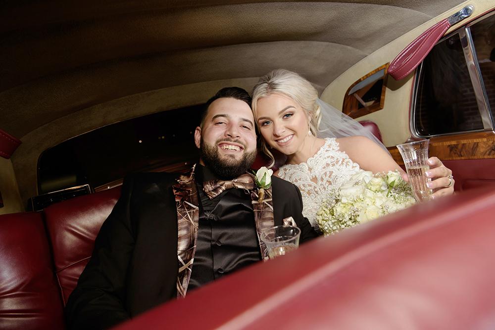 St Anthony and Jean Lafitte Auditorium Wedding| Myles & Alayne