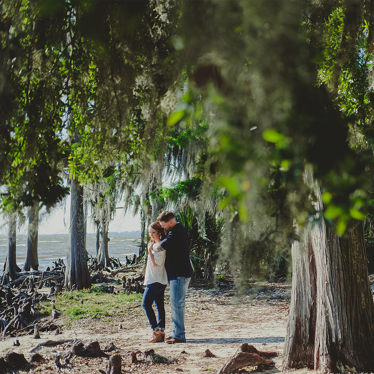 Fontainebleau State Park Engagement Photographer   KAYLA & LAWRENCE