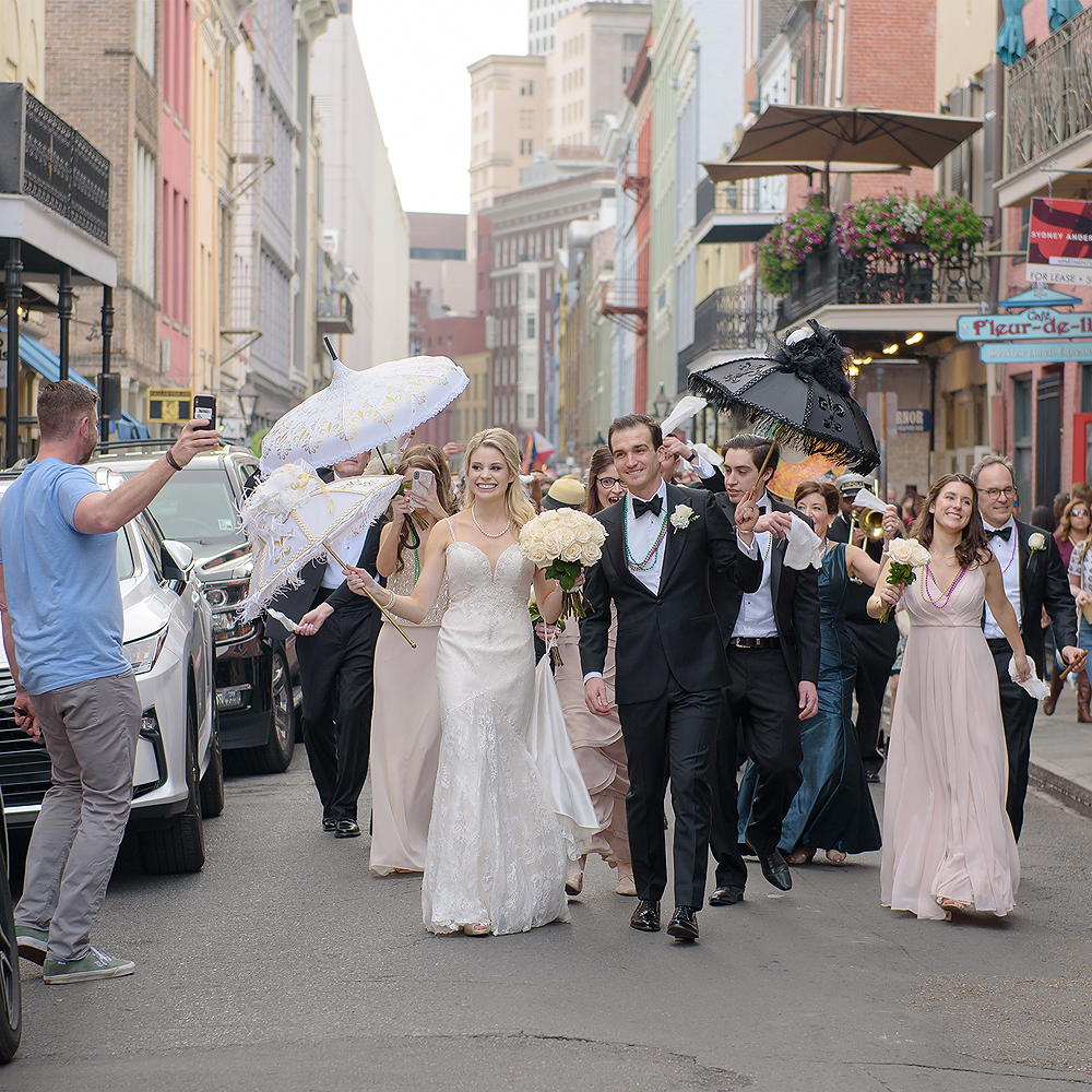 New Orleans Immaculate Conception and Roosevelt Wedding | William & Christina