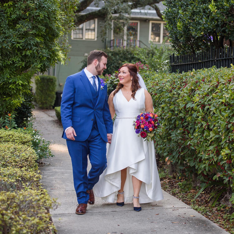 Intimate Uptown New Orleans Magazine St The Gallery Wedding   Tori & Luke
