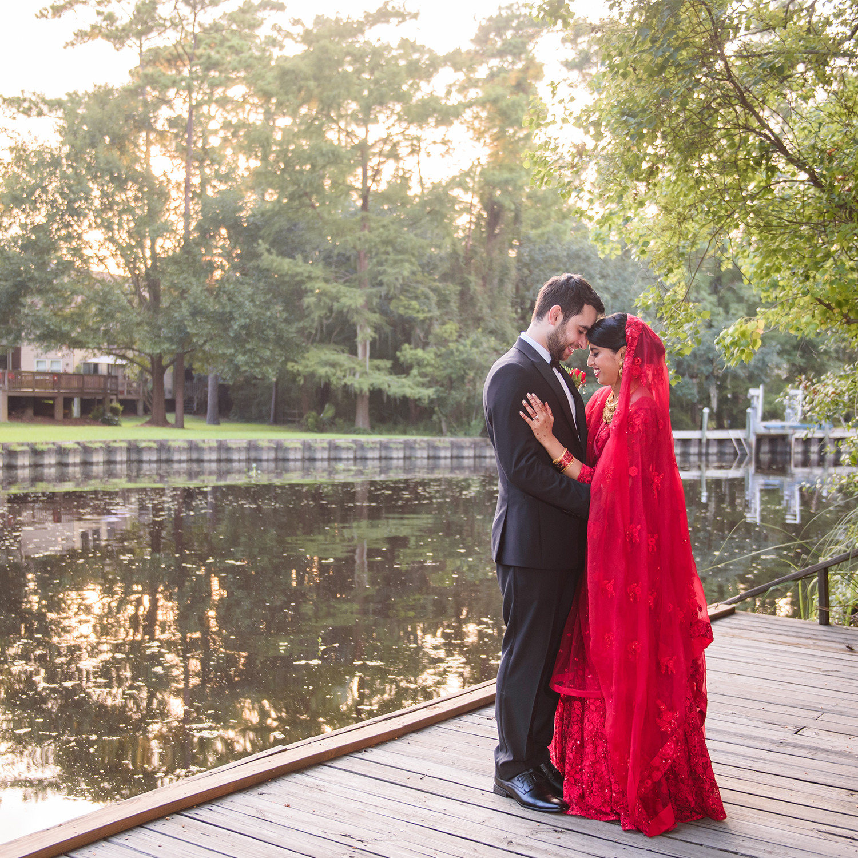 INTIMATE BACKYARD WEDDING TUMERIC & RUSMAT CEREMONY  BASEL & LAAMIA