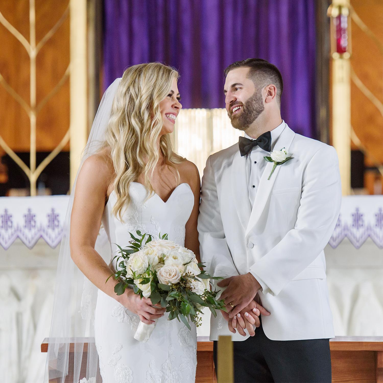 Beautiful Wedding and Fun English Turn Reception | Shelby & Chuck